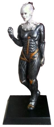 GE Fabbri 4 Borg Queen figurine