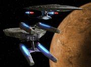 Hathaway und Enterprise