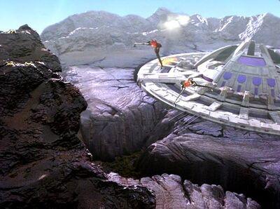 Klingonen greifen Trelka V an