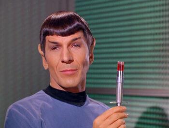 Henoch in Spock's body in 2268