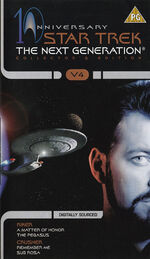 TNG 10th Anniversary Collector's Edition volume 4 cover