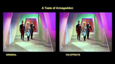 """TOS """"A Taste of Armageddon"""" - """"Echec et diplomatie"""""""" - """"Echec et diplomatie"""" - comparaison des effets spéciaux"""