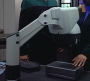 Electron resonance scanner