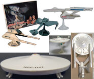 Mego Star Trek starships