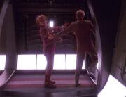 Quark wird verhaftet