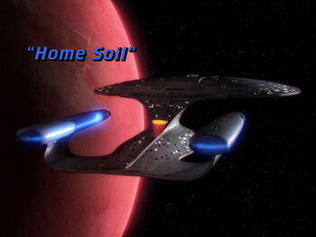 Home Soil title card