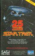 25 Jahre Star Trek - Videocover CIC Sat.1-Edition