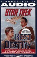 Best Destiny audiobook cover, US cassette edition