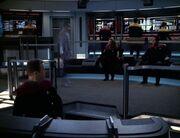 Gotana-Retz transports aboard USS Voyager