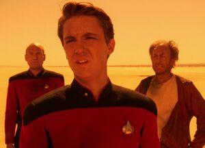 Picard, Wesley and Dirgo, 2367