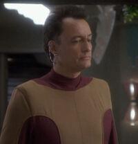 Q, Bajoran waiter