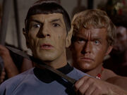 Spock in trouble