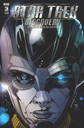 Star Trek Discovery - Succession, issue 3 cover A