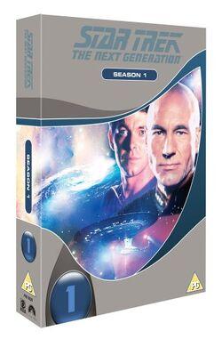 TNG Season 1 DVD-Region 2 new