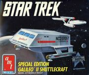AMT Model kit 6006 Galileo II Shuttlecraft 1991