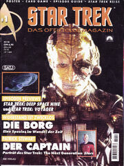 Cover Star Trek Das offizielle Magazin, issue 1