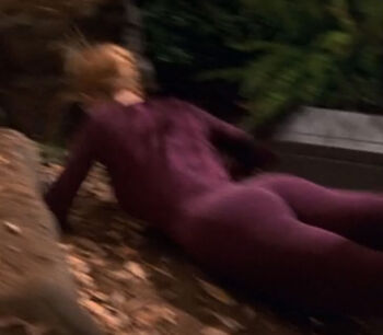 ... as stunt double for Jeri Ryan