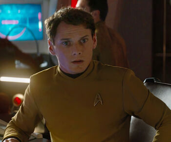 "Pavel Chekov in <a href=""/wiki/2263"" title=""2263"">2263</a>"