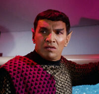 Romulan commander, 2266