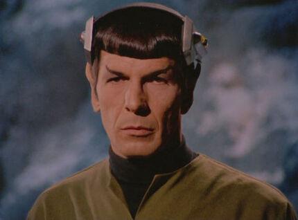 Spock wearing neural stimulator 2
