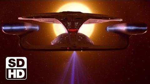 """TNG """"Final Mission"""" - """"La dernière mission"""" - comparaison des effets spéciaux"""
