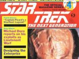 The Official Star Trek: The Next Generation Magazine issue 4