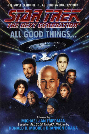 All Good Things novelization cover, hardback edition.jpg
