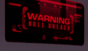 Hull breach warning