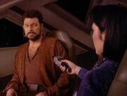 Ro bedroht Riker