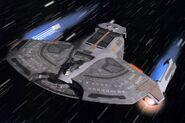 Saber Class CGI model by Digital Muse