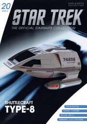 Star Trek Official Starships Collection Shuttle issue 20
