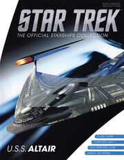 Star Trek Official Starships Collection USS Altair cover