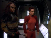 T'Kar with Kira Nerys
