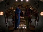 Jake will seinen Vater im Leuchtschiff begleiten