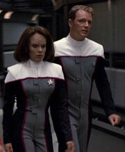 Starfleet flight suit