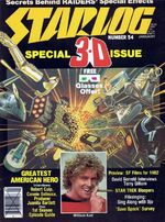 Starlog issue 054 cover