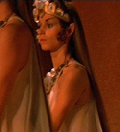 ... as a Vulcan maiden