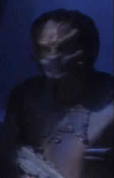 ... as an alien mine guard