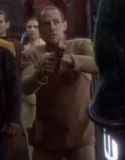 Bajoran DS9 deputy 3