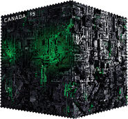 Canada Post 2017 Borg stamp