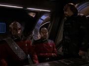 Ch'Pok will Worf Fahrlässigkeit nachweisen