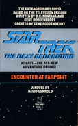Encounter at Farpoint novelization cover, first edition