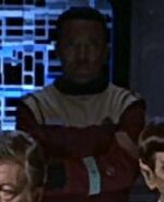 Enterprise-A transporter chief, 2293
