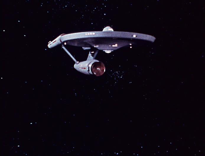 Enterprise NCC-1701 verlässt die Milchstraße