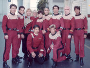 Excelsior stunt crew