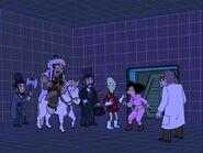 Futurama, Kif Gets Knocked Up A Notch, Holoshed