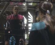 Sisko spricht mit dax