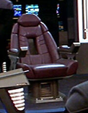Sovereign class Captain's chair