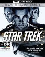 Star Trek 4K UHD US cover