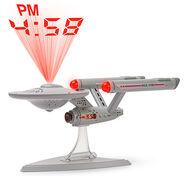 Star Trek Enterprise Projection Alarm Clock